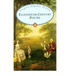 EIGHTEENTH CENTURY POETRY