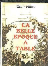 LA BELLEEPOQUE A TABLE