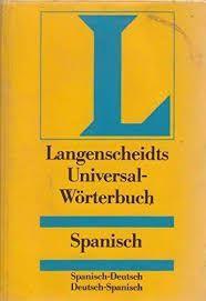 DICCIONARIO SPANISCH-DEUTSCH DEUTSCH- SPANISCH