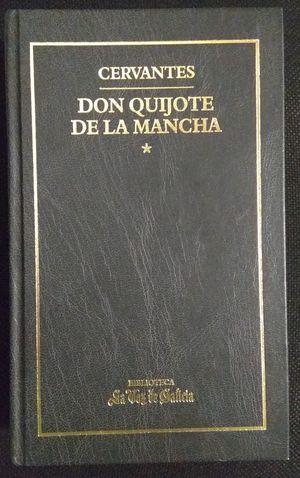 DON QUIJOTE DE LA MANCHA - TOMOS I