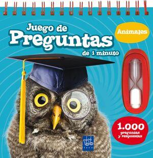 JUEGO DE PREGUNTAS DE 1 MINUTO. ANIMALES