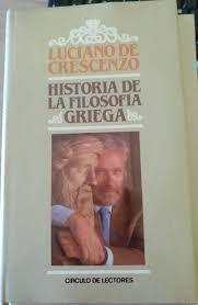 HISTORIA DE LA FILOSOFÍA GRIEGA