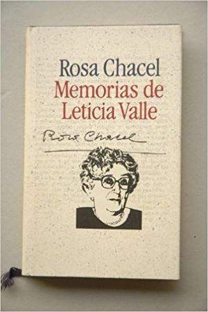 MEMORIAS DE LETICIA VALLE