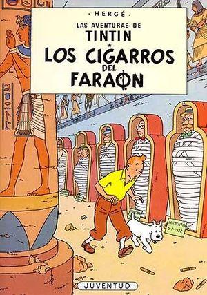 TINTIN LOS CIGARROS DEL FARAÓN