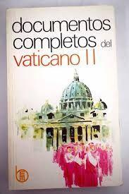 DOCUMENTOS COMPLETOS VATICANO II