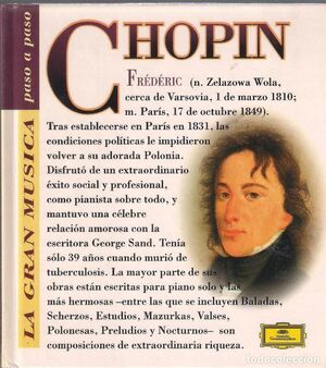 FREDERIC CHOPIN (CON CD)