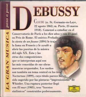 CLAUDE DEBUSSY (CON CD)