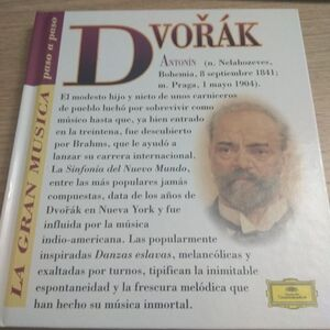 ANTONIN DVORAK (CON CD)