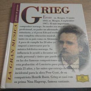 EDUARD GRIEG (CON CD)
