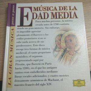 MÚSICA DE LA EDAD MEDIA (CON CD)