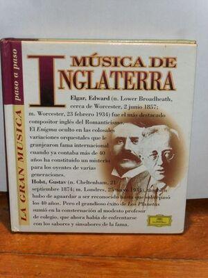 MÚSICA DE INGLATERRA (CON CD)