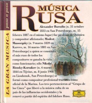 MUSICA RUSA (CON CD)