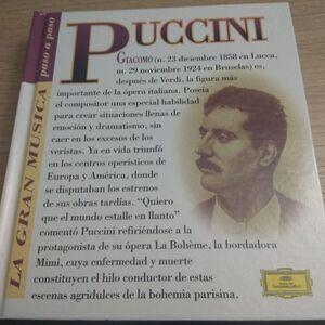 GIACOMO PUCCINI (CON CD)