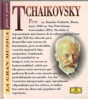 PETER ILYCH TCHAIKOVSKY(CON CD)