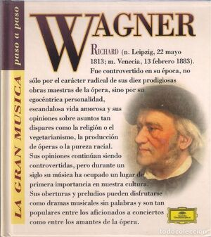 RICHARD WAGNER (CON CD)