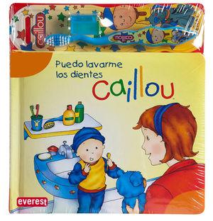 CAILLOU. PUEDO LAVARME LOS DIENTES