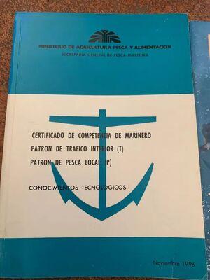 CERTIFICADO DE COMPETENCIA DE MARINERO