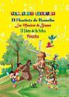 EL FLAUTISTA DE HAMELÍN, LOS MÚSICOS DE BREMEN, EL LIBRO DE LA SELVA Y PINOCHO