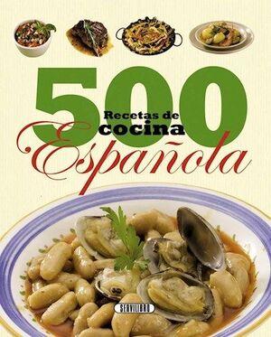 500 RECETAS DE COCINA ESPAÑOLA