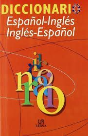 DICCIONARIO ESPAÑOL-INGLES INGLES-ESPAÑOL