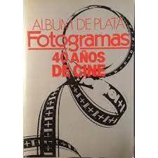 ÁLBUM DE PLATA DE FOTOGRAMAS