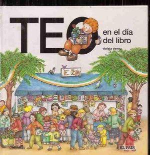 TEO EN EL DIA DEL LIBRO (SAN JORDI)