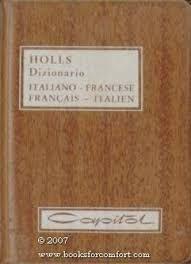 DIZIONARIO HOLLS ITALIANO- SPAGNOLO, SPAGNOLO-ITALIANO
