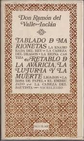 TABLADO; RETABLO (SIN SOBRECUBIERTA)