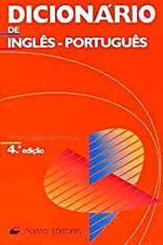 DICIONARIO DE INGLES- PORTUGUES