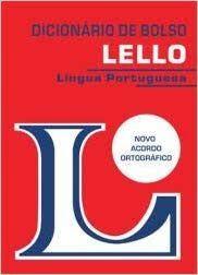 DICIONARIO DE BOLSO LINGUA PORTUGUESA